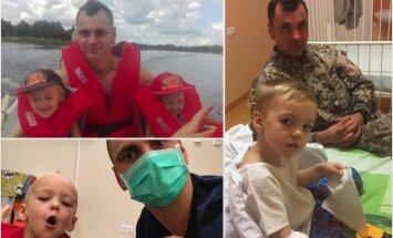 Simptomi parādījās vienā vakarā. Tēta stāsts par dēliņa cīņu ar mīksto audu vēzi