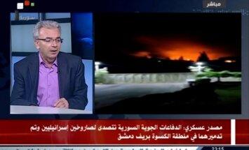 Sīrijas armija notriekusi divas Izraēlas raķetes pie Damaskas