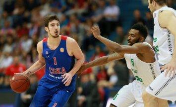 CSKA nonāk uzvaras attālumā no triumfa VTB līgā