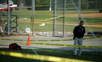 Apšaudē ASV republikāņu kongresmeņu beisbola treniņā vairāki ievainotie