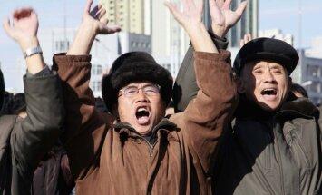 Jaunā raķete spēj sasniegt visu ASV teritoriju, līksmo Ziemeļkoreja
