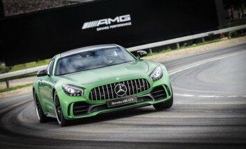 'Mercedes-AMG GT R' ar 585 ZS turbomotoru