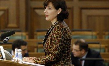 Reizniece-Ozola apsver iespēju pretendēt uz Eirogrupas prezidenta amatu