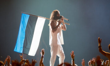 Foto: 'Thirty Seconds to Mars' pieskandina Tallinu