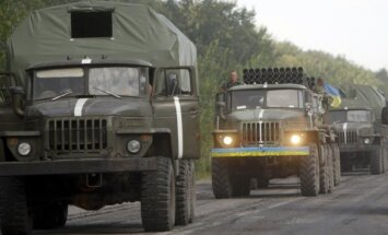 Lietuva atbalsta Ukrainas armiju savu iespēju robežās, pauž ministrs