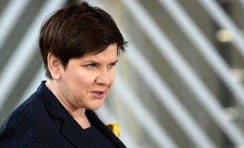 Polija nevarot uzņemt patvēruma meklētājus, paziņo Šidlo
