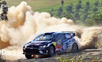 Mikelsens, par spīti tehniskām problēmām, saglabā vadību pēc Austrālijas WRC rallija otrās dienas
