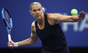 Igauniete Kanepi nesagādā sensāciju 'US Open' – pusfinālā tikai amerikānietes