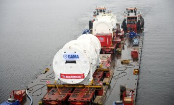 На ТЭЦ-2 транспортировали новые турбину и генератор