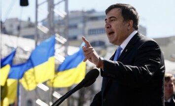 Saakašvili uz trīs gadiem liegta iebraukšana Ukrainā