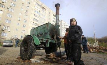 Ukrainas austrumos pasliktinās drošības situācija