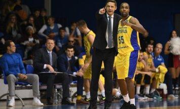 Traumu nomocītā 'Ventspils' FIBA ČL spēlē piekāpjas 'Ewe Baskets' komandai