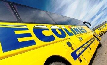 Igaunijā policija aiztur piedzērušos 'Ecolines' autobusa šoferi