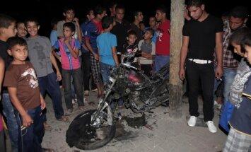 No Gazas sektora pamatīgi apšaudīta Izraēlas teritorija
