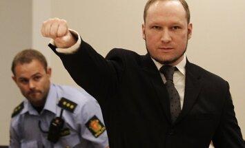 Breivīkam neļauj reģistrēt fašistu partiju