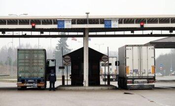 Saskaņošanai EK iesniegti VNĪ projekti 'Terehovas' un citu robežšķērsošanas vietu uzlabošanai