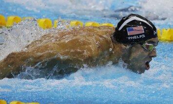 Felpss no olimpiskajām spēlēm atvadās ar vēl vienu zeltu