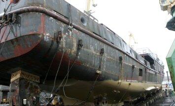 На Rīgas kuģu būvētava произошла предупредительная остановка работ