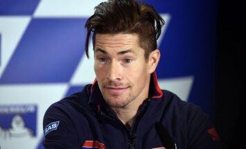 'Moto GP' čempiona Haidena stāvoklis pēc velosadursmes ir 'smags un kritisks'