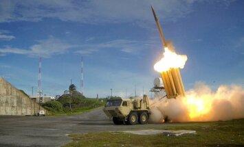 Ziemeļkorejas bezpilota lidaparāts izspiego ASV pretraķešu sistēmu un avarē