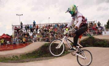 'SMScredit.lv' BMX čempionāta Mārupes posmā svētki un jauns dalībnieku rekords