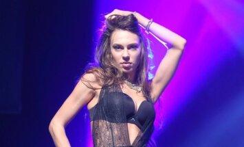 Foto: Draiskā 'Netīro deju' Evelīna kārdina 'Erotā'