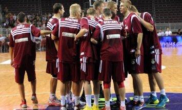 LBS basketbola izlasei Eiropas čempionātā neizvirza konkrētu uzdevumu