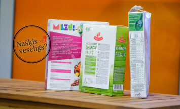 'Našķis vai veselīgs produkts': uztura speciāliste vērtē brokastu pārslas un musli