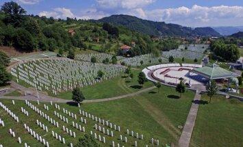 ANO spiesta atlikt Srebrenicas slaktiņa atzīšanu par genocīdu