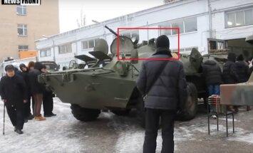 Doņeckā pamanīts Krievijas modernizētais BTR-80