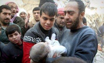 'Amnesty International' apsūdz Krieviju kara noziegumos Sīrijā