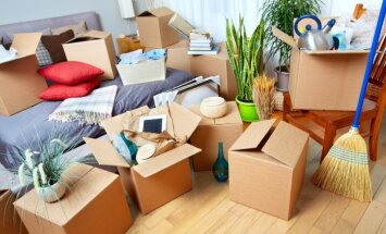 Pārcelšanās uz jaunām mājām: ko iesākt ar liekajām kastēm?