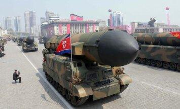 КНДР показала постановочный ракетный удар по США