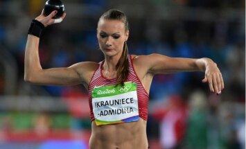 Ikauniece-Admidiņa varētu sadarboties ar treneri no Igaunijas