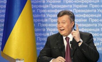 Янукович надеется на возвращение Крыма в состав Украины