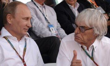 """Экклстоун: """"Путин — тот человек, который должен управлять всей Европой"""""""