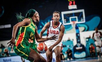 Latvijas nākamo pretinieču spēlē ASV basketbolistes droši uzvar Senegālu