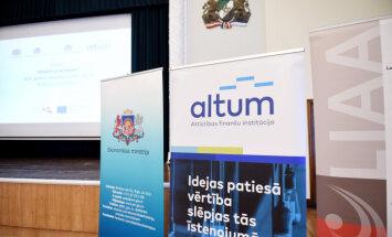 Полугодовая прибыль Altum сократилась до 2,5 млн евро