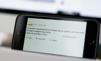 Neticiet solījumiem apskatīt 'Facebook' profila statistiku; izplatījies jauns vīruss