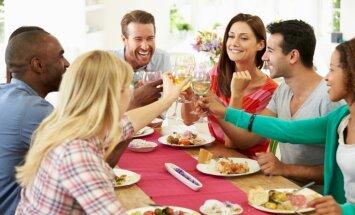 Nebadojies un esi izvēlīga – ieteikumi, lai svētki nekļūtu par negausīgu rīšanu