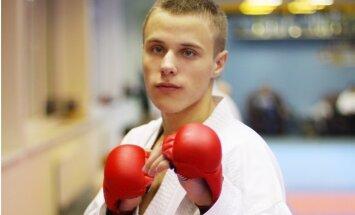 Каратист Калныньш— вице-чемпион Европы