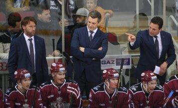 Rīgas 'Dinamo' hokejisti šogad pēdējā mājas spēlē uzvar 'Slovan'