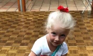 Fanus sajūsmina video ar Pugačovas un Galkina meitiņu Jūrmalā