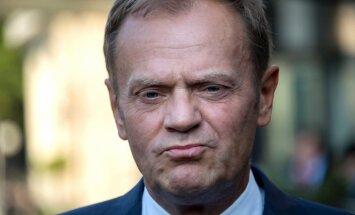 Polijas goda konsuli atstādina par Tuska atainošanu kā nacistu virsnieku