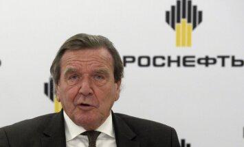Šrēders ievēlēts 'Rosņeftj' direktoru padomes priekšsēdētāja amatā