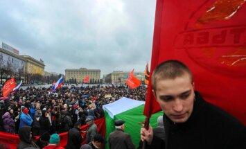Krievijas agresija Ukrainā, Šķēle pamet apsardzes biznesu, krājumi ceļo uz Gaismas pili