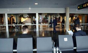 LTV: 600 000 eiro vērtais LIAA stends lidostā bieži stāv tukšs
