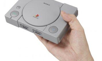Gluži kā pirms 25 gadiem: 'Sony' atsāks tirgot klasisko 'PlayStation'