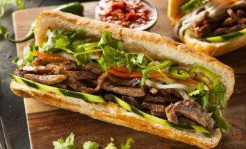 Kā pagatavot izcili gardo sviestmaizi 'banh mi', kas tiek uzskatīta par labāko pasaulē