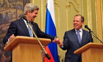 Krievija un ASV vienojas par Sīrijas miera konferences sarīkošanu